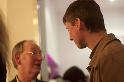 Chair Ian Kennedy with guests at our launch event