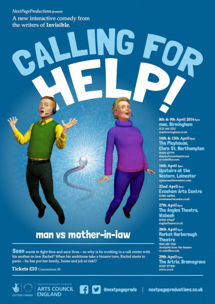 CALLING FOR HELP poster front